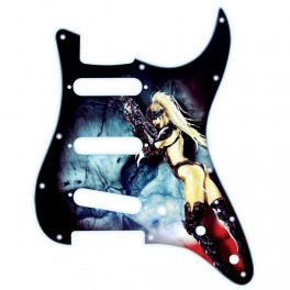 X-Guards Caliber Girl Golpeador de guitarra strato