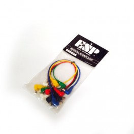 ESP CD-7 Pack 6 unidades cables de alimentación de pedal
