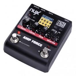 Nux Amp Force Pedal simulador de amplificador