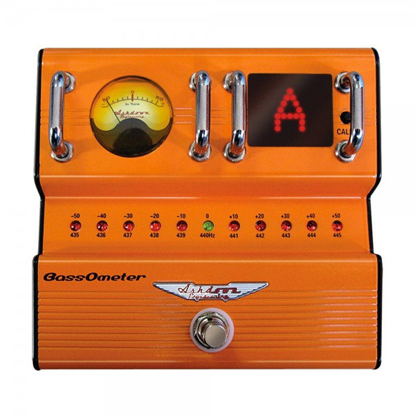 Ashdown Bass Ometer pedal afinador de bajo