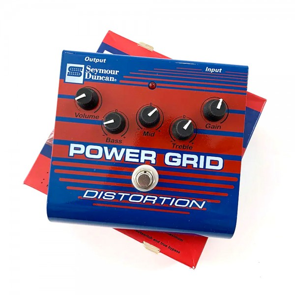 Seymour Duncan Power Grid SFX-08 pedal de distorsion