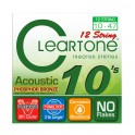Cleartone 7410-12 Cuerdas guitarra acústica 12 cuerdas 10-47
