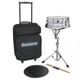 Ludwig Drumkit LE2475R caja de prácticas