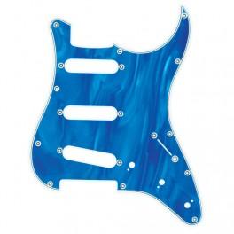 X-Guards Dark Blue Moire Golpeador de guitarra strato