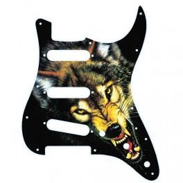 X-Guards Artic Wolf Golpeador de guitarra strato