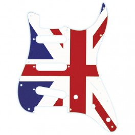 X-Guards Union Jack Golpeador de guitarra strato bandera inglesa